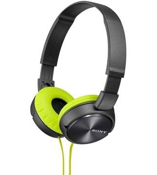 Sony Premium Lightweight Extra Bass Stereo Headphones (Grey)