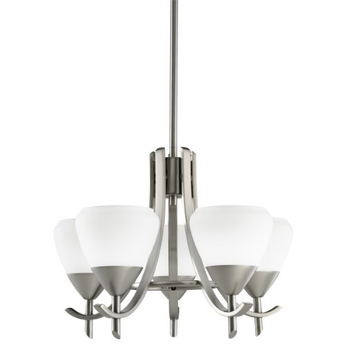 B001BA254M Kichler Lighting 1678AP 5-Light Olympia Incandescent Chandelette, Antique Pewter