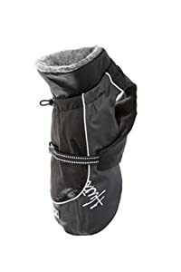 Hurtta Pet Collection 13-Inch Winter Jacket, Black
