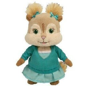 "Amazon.com: Ty Alvin and the Chipmunks 6"" Eleanor Plush Doll Toy: Toys"