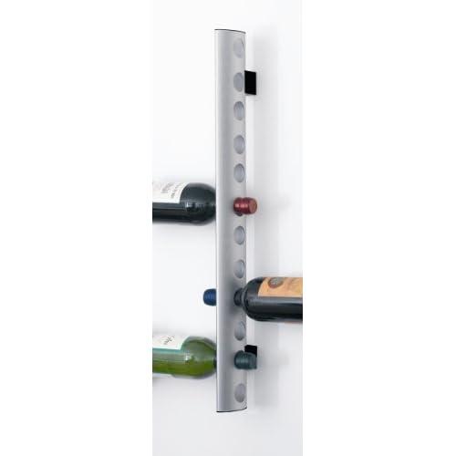 Herstal 2030071313 Gray Cori Wine Rack - Holds 12 Bottles