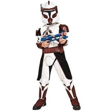 Star Wars Clone Wars Deluxe Commander Fox Child