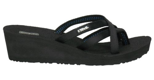Teva Women'S Mandalyn Sandal,Black,6 M Us front-1024810