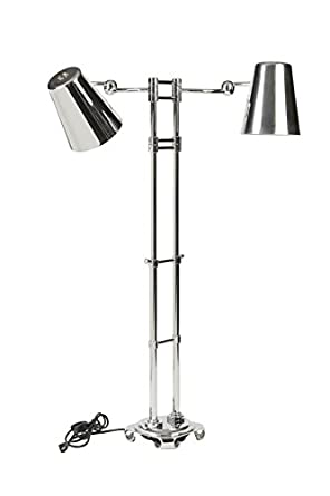"""Bon Chef 9684H Stainless Steel Adjustable Heat L amp High Stand, 110V On/Off Switch, 43"""" - 58"""" Height"""
