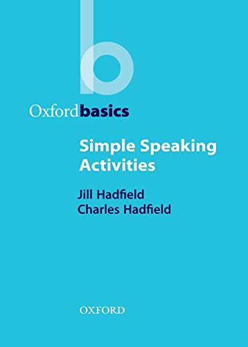 Oxford Basics: Simple Speaking Activities