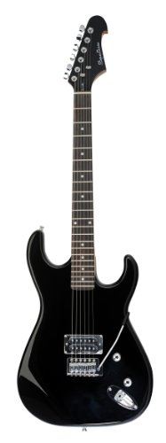 Spectrum Star Series Ail 57Gb Solid Body Full Size High Gloss Black Electric Guitar