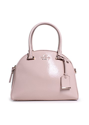 Kate Spade Cedar Street Patent Small Pearl In Pebble