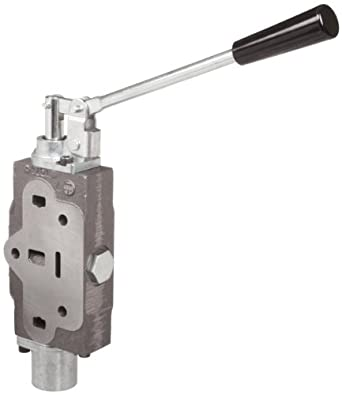 Prince SVW1CA1 Directional Control Valve Work Section, 4 Ways, 3 Positions Motor, Spring Center, Cast Iron, 3000 psi, 12 gpm, #8 SAE