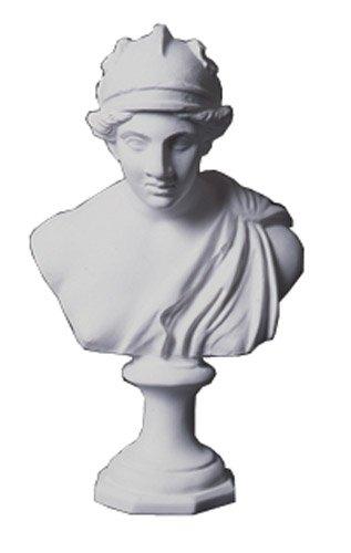 ホルベイン ミニ石膏像 アマゾン胸像 白 412210