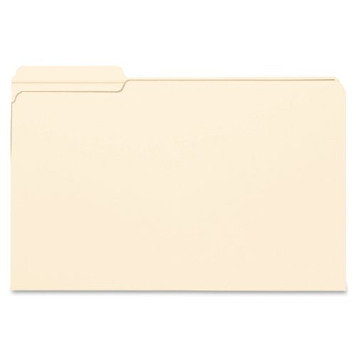 Smead File Folder, Reinforced 1/3-Cut Tab Left Position, Legal Size, Manila, 100 Per Box (15335) (File Folders Left Tab Position compare prices)