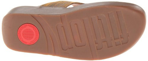 FitFlop Women's Lulu Silky Thong Sandal,Bungee Cord,7 M US