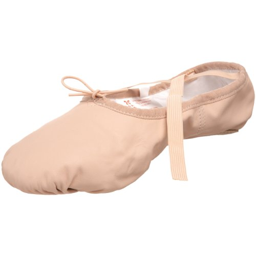 Sansha Pro 1 Leather Ballet Slipper,Pink,13 W US Women's/9 W US Men's