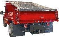 Buyers Products Dtr7515 7.5' X 15' Dump Truck Roll Tarp Kit