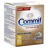 72 Count 2mg Cappuccino Commit Expired 9/2010 Poppacs Only - NO Boxes ~ Commit