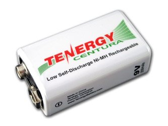 Tenergy 9V 200Mah Low Self-Discharge Nimh Rechargeable Battery