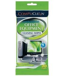Antibacterial Office Equipment wipes 30pk (Electronic Vapour compare prices)