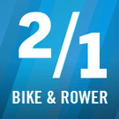 2 for 1: Bike & Rower