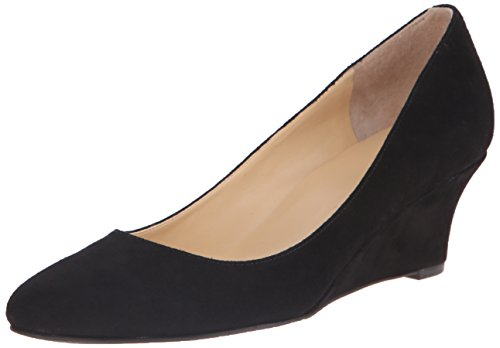 Cole Haan Women's Catalina Wedge Pump, Black Suede, 6.5 B US (Cole Haan Wedge compare prices)
