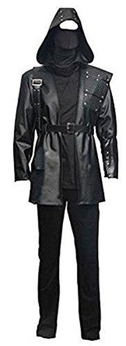 [Green Arrow Dark Archer Malcolm Merlyn Stylish Cosplay Costume (L)] (Malcolm Merlyn Costume)