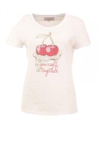 Verysimple -  T-shirt - Casual - Maniche corte  - Donna bianco 40