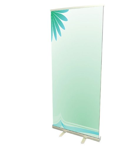 "Fantastic Displays 33"" Retractable Banner Stand With Print"