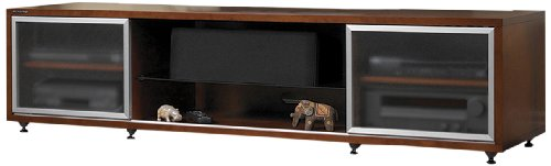 Plateau Sr-V 65 Wood Tv Stand, 75-Inch, Walnut Finish