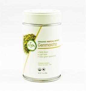 Organic Matcha Infused Genmaicha 85 Grams Loose Leaf