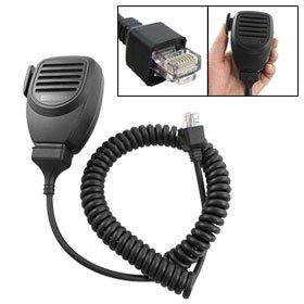 Blk Coil Cord Handheld Speaker Mic For Kenwood Tk-868G