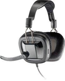 Plantronics - Gamecom 380 Headset W/Mic Forpc Gaming