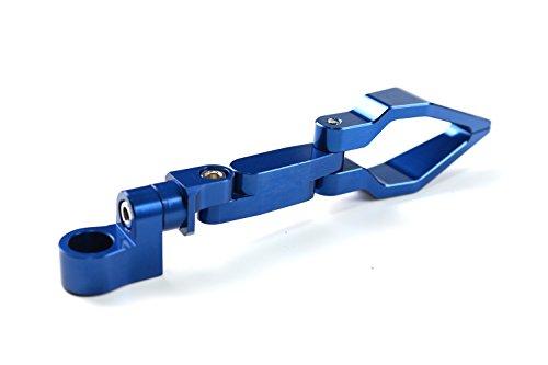 Universal Motorrad Kraftstoff Gas Öl Wire Pipeline Kabel Tacho Line Schlauchführung Halterung Halter Klemme Clip für Honda Yamaha Kawasaki Suzuki KTM blau