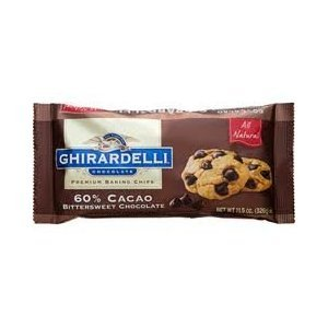 Ghirardelli 60% Cacao Bittersweet Chocolate Baking Chips 3lbs (48oz)
