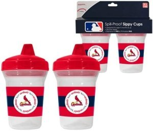 St. Louis Cardinals MLB Baby Sippy Cup - 2 Pack