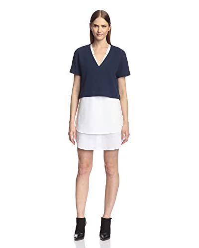 Derek Lam 10 Crosby Women's 2-in-1 Poplin Dress & Top