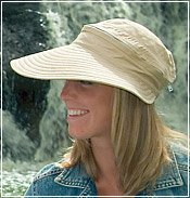 Physician Endorsed Sun Protection Hats - Naples Khaki