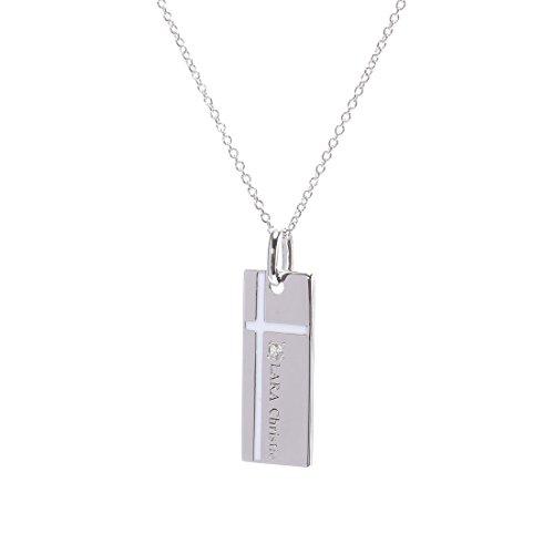 [ララクリスティー]LARA Christie ネックレス ノーブル クロスネックレス [WHITE Label] P3051-WH
