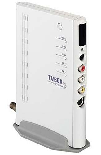 I-O DATA 液晶ディスプレイ対応 コンパクトTVチューナーBOX TVBOXes TVBOXES