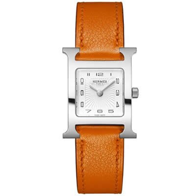 Hermes Heure H Ladies Quartz Watch - 036707WW00