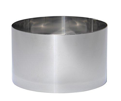 De Buyer 3912.2 Emporte-Pièces Cercle Rond en Inox Diamètre 20 cm