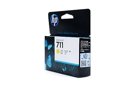 Encre hP d'origine hP designJet t 711/520/cZ132A encre jaune - 1 pièce