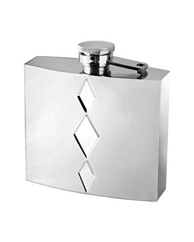 Vera Wang Wedgwood Peplum Silver-Plated Flask