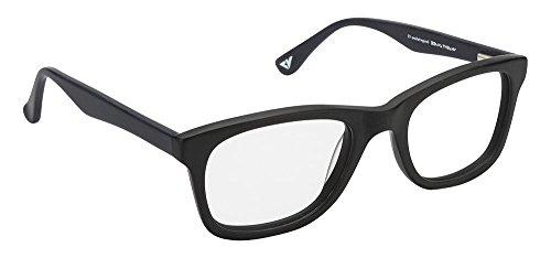Vincent Chase VC 4010 Matte Black Blue C4 Wayfarer Eyeglasses(103808)