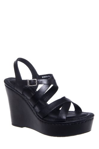 Born Filomena High Wedge Ankle Strap Sandal