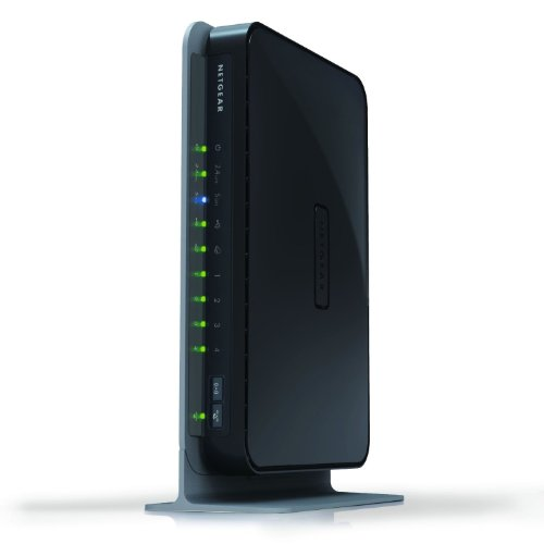 NETGEAR WNDR3700 N600 Wireless Dual-Band Gigabit Router - Manufacturer Refurbished