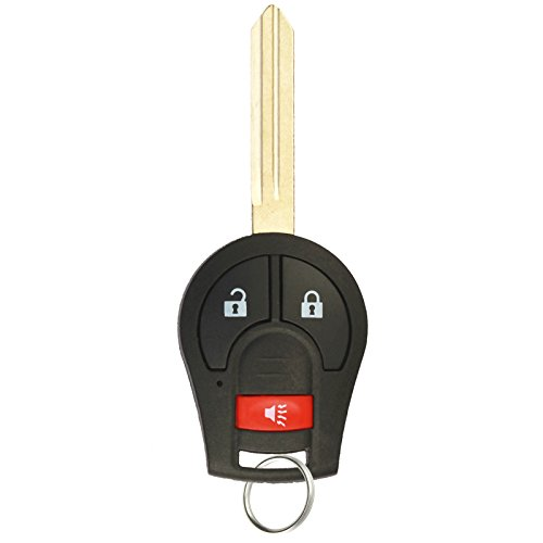 KeylessOption Keyless Entry Remote Control Car Uncut Ignition Key Fob Replacement for CWTWB1U751 (Nissan Rogue Replacement Key compare prices)
