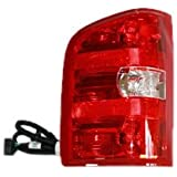 TYC 11-6222-00 Chevrolet Silverado Driver Side Replacement Tail Light Assembly