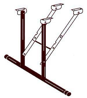 Folding Table Bracket front-967781