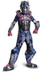 [Optimus Prime Prestige Costume - Medium] (Prestige Optimus Prime Kids Costumes)