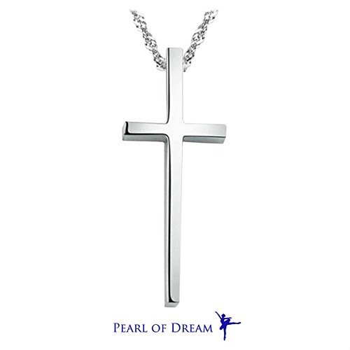 Cross Of Love In Him Sterling Silver Pendant Necklace