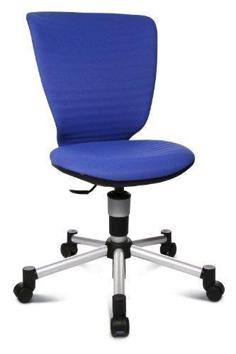 Drehstuhl-Titan-Junior-3D-Blau-Jugenddrehstuhl-mit-neuem-3D-Sitzgelenk