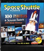 Space Shuttle Flights Picture CD - 1